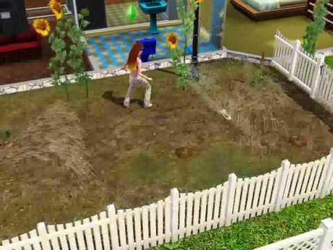 sims 3 gardening