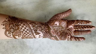 Bridal Henna Design 1 Tube10x Net
