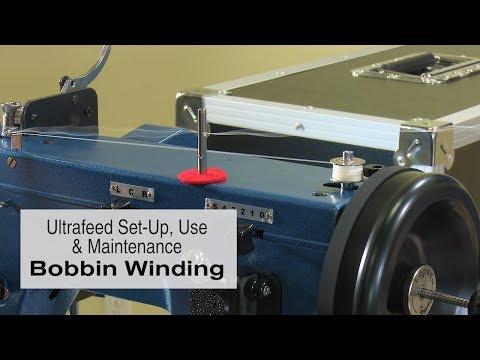 Bobbin Winding on the Sailrite Ultrafeed Sewing Machine