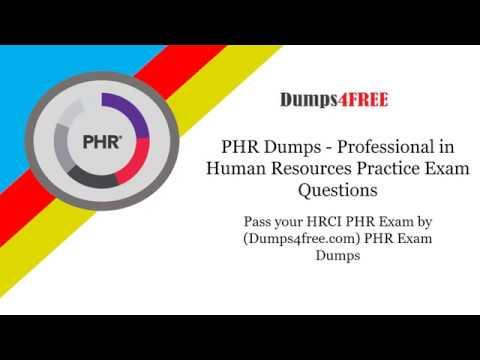 Pass your HRCI PHR Exam by Dumps4free com PHR Exam Dumps