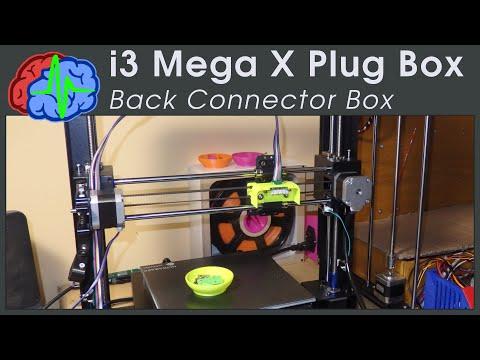 Anycubic i3 Mega Back Connector Box