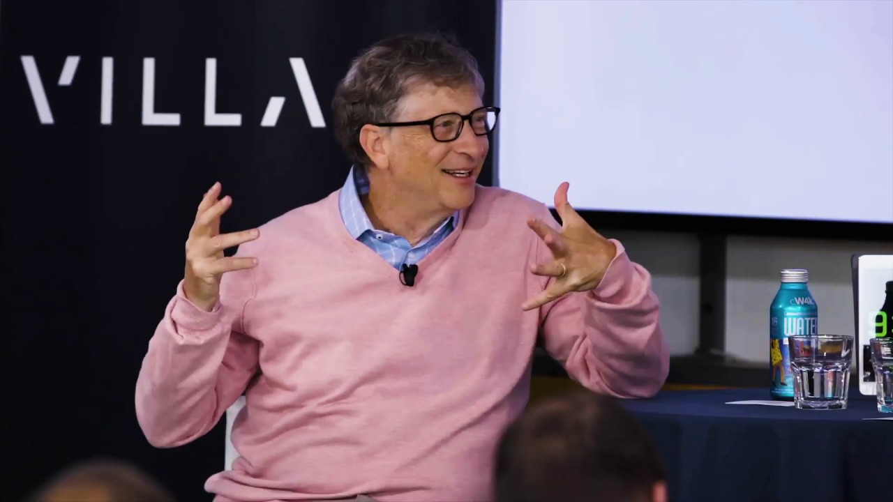 Bill Gates on Startups, Investing and Solving The World's Hardest Problems