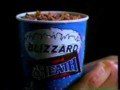 Dairy Queen Blizzard Commercial 1989