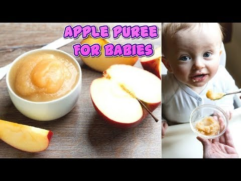 5 Easy Steps To Prepare Apple Puree For Your Baby #NaturalRemedies
