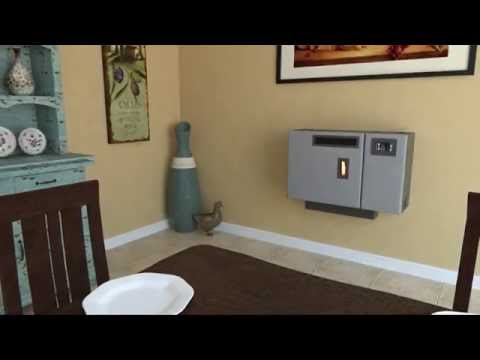4840 Wall Mount Pellet Stove