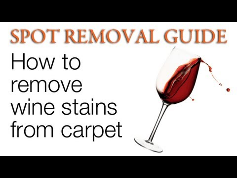 How to Remove Red Wine from Carpet | Spot Removal Guide