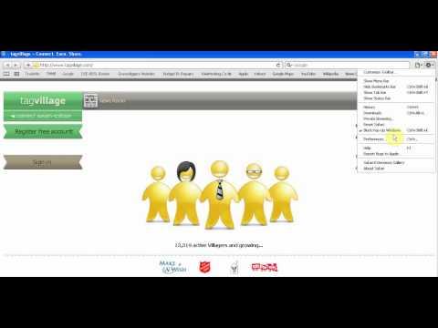 Setting Safari's Homepage.