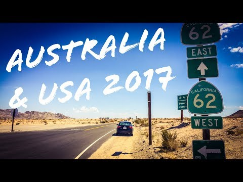 Australia & USA Road Trip Summer 2017