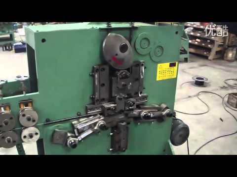 Clamp spring wire bending machine