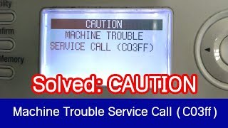 Trouble Code Full List SOLUTION MINOLTA c35 c35P - Tomasz Jemiołek