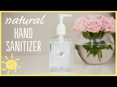 DIY | Natural Hand Sanitizer
