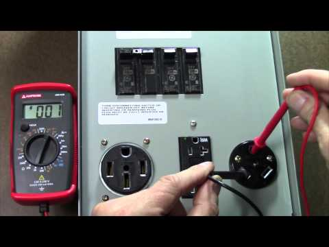 Review of the Amprobe PK-110 Kit for testing RV Electricity