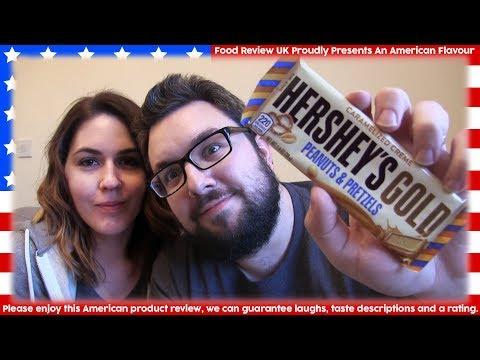 Hershey's Gold Peanuts & Pretzels Review (America)