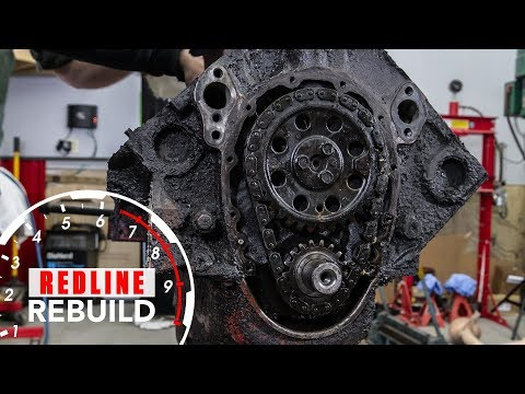 Chevy Small-Block V8 Engine Rebuild Time-Lapse | Redline Rebuild - S1E1