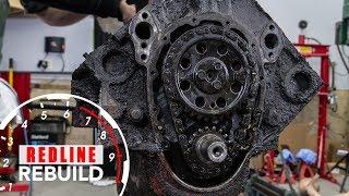 Chevy Small-Block V8 Engine Rebuild Time-Lapse   Redline Rebuild - S1E1