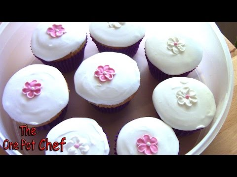 Royal Icing for Cupcakes | One Pot Chef