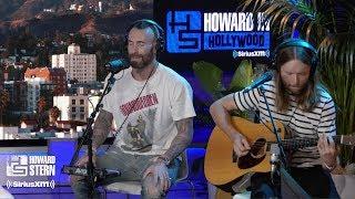 Adam Levine James Valentine Memories Live On The Howard Stern Show