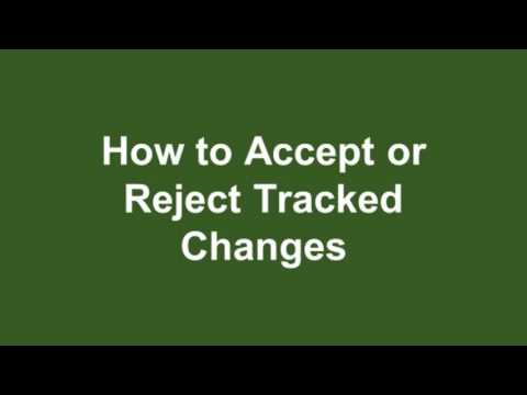 Microsoft Word 2016 Tutorial 19 How to Track Changes