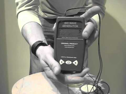 Zapped in Under 2 Minutes - Dr. Hulda Clark Parasite Zapper - No Audio or Titles
