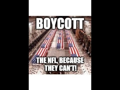 WHY DO NFL PLAYERS PROTEST OUR COUNTRY & FLAG? Burning Jerseys? Brads Boycott