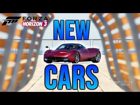 Forza Horizon 3: LIve Online Free Roam! I Bought New Cars!