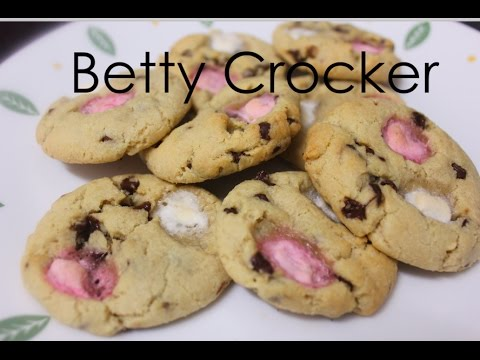 Betty Crocker Chocolate Chip Cookie mix with marshmallows - quick & easy!