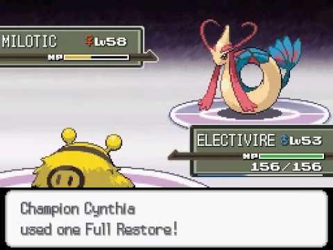 [PM] Pokémon Platinum - Champion Cynthia