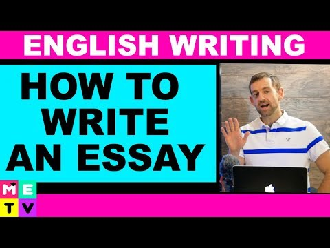 How To Write An Essay | Template
