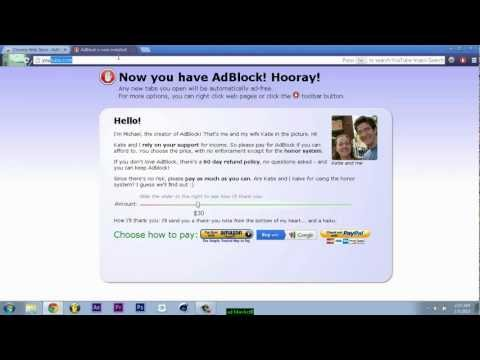 How to disable ads (Ad Blocker)