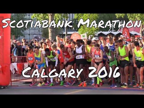 2016 Scotiabank Calgary Marathon