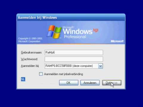 Windows XP Fake login V3