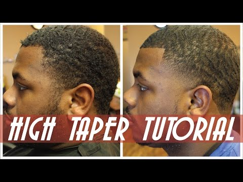 How To: High Bald Taper Mens Haircut | Step by Step