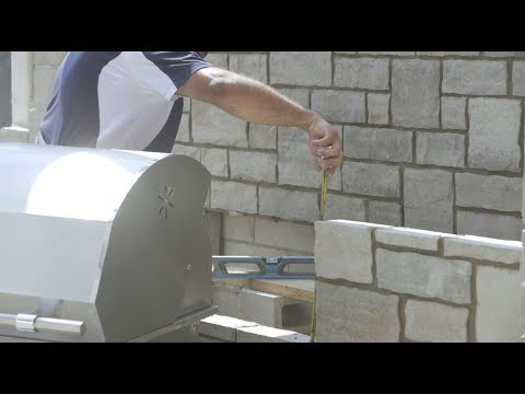 Outdoor Kitchen - Masonry And SRW Construction