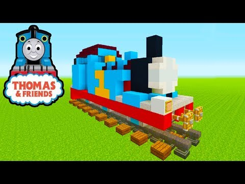 Minecraft Tutorial: How To Make Thomas The Tank Engine