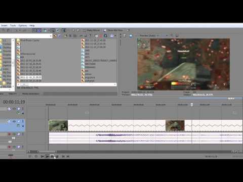 How to use Slow motion on Sony Vegas Movie Studio HD Platinum 10