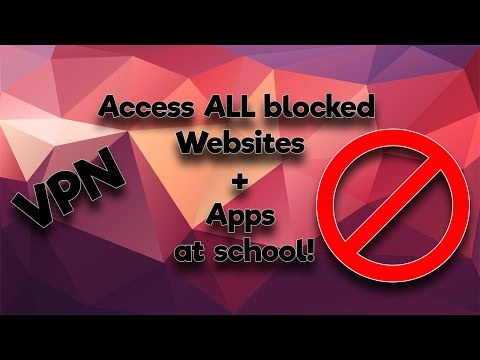 Access ALL blocked Websites and Apps at school using ANY iOS device! (No Jailbreak)