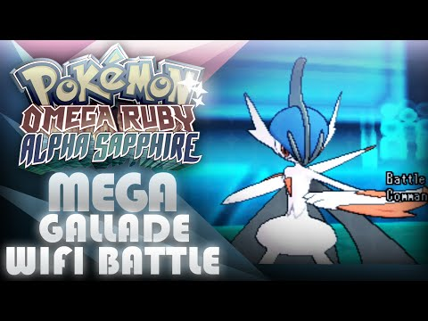 Pokemon Omega Ruby Alpha Sapphire Wifi Battle #2 - Shiny Mega Gallade! [ORAS] - Mootypwns