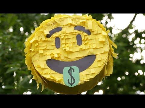 How to Make an Emoji Piñata