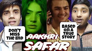 Aakhri Safar | Horror Short Film By Ashish Chanchlani | Reaction & Review | True Horror Story |