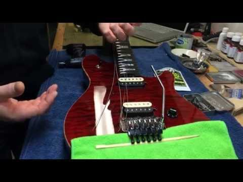 Floyd Rose | Tips and tricks when changing strings | Szeryk Guitar Academy ™