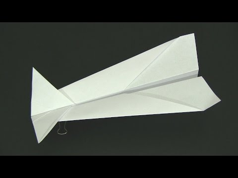 How to Make a Paper Airplane - Shark Flyer