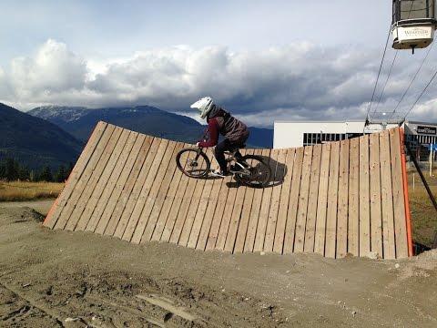 Freeride Dirt Jumping & Skatepark | Whistler Canada 2014