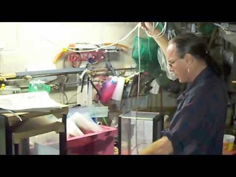 # 924 Mostly Seperating Baby Brine Shrimp.Part Two Crls Aquarium