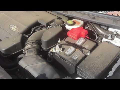 Changing the battery in a 2015 Ford Explorer