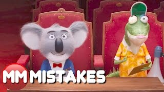 10 Sing MISTAKES Goofs You Missed | Sing MISTAKES 2016 | MOVIE MISTAKES