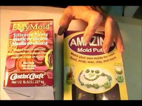Mold Putty Comparison - Amazing Putty vs. Easy Mol