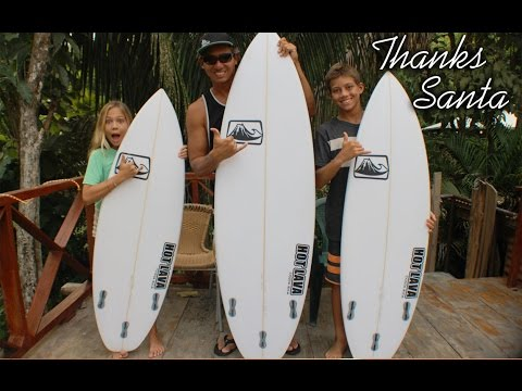 New Replica Surfboards From Santa - 2015 Christmas Haul