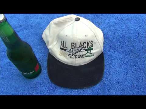 Waterproofing a 96 All Blacks Cap