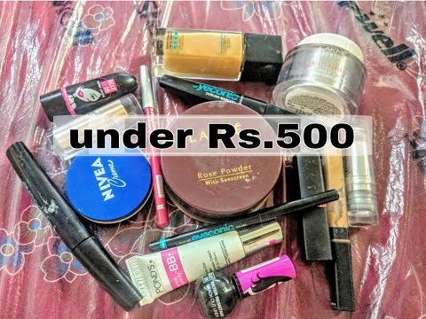 Best Makeup Products Under RS.500 | For every day makeup routine