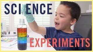 PLAY | 3 Awesome Science Experiments!!